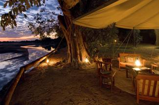 Luxury Safari Camp Relocates in Zambia