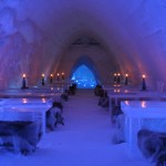 The Ice Restaurant offers a unique dining experience