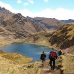 Hiking from Lares to Pataca. Photo by Matthew Barker